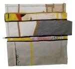 Paper, masking tape, paint, plastic. 7x7ft. 2011