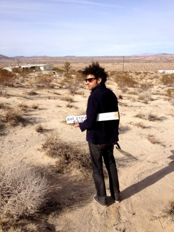 TUNINGFIELD and TUNINGSTAKES, JOSHUA TREE CA 2013 -